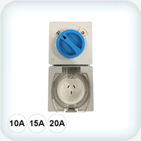 3 Pin Combination Switched Sockets IP66