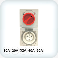 5 Pin Combination Switched Sockets IP66