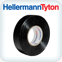 Helatape PVC Tape .15 x 19mm Black 20m Roll