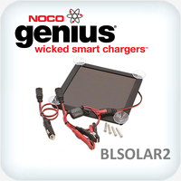 Genius 2.5 Watt Solar Battery Charger / Maintainer