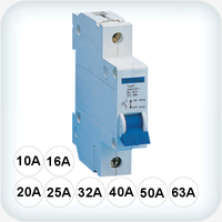10kA Circuit Breaker Single Pole