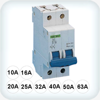 6kA Circuit Breaker Double Pole