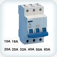 10kA Circuit Breaker Three pole