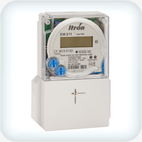 Single Phase kWh Meter with Integrated Tariff Control