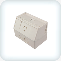 Neptune Single GPO 10A Weatherproof IP53