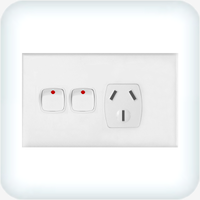 Powerclip Single GPO with Extra Switch 10A