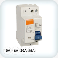 Double Pole RCD/MCB
