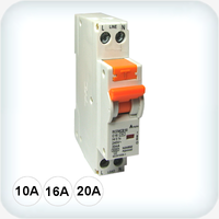 6kA Single Pole RCD/MCB