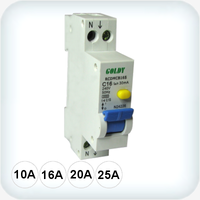 3kA Single Pole RCD/MCB