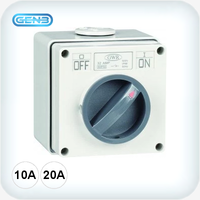 Two Pole Isolation Switch IP66