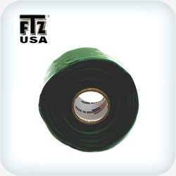 Silicone Self Fusing Tape 25mm x 6m Green