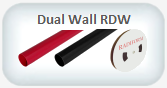 dual wall adhesive lined heat shrink tubing