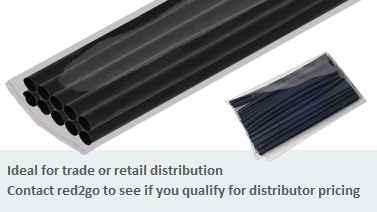 Retail Packs Radiform Heat Shrink Tubing