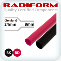 24-8mm RDW Heat Shrink 1.2m Lengths