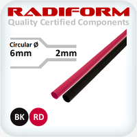 6-2mm RDW Heat Shrink 1.2m Lengths