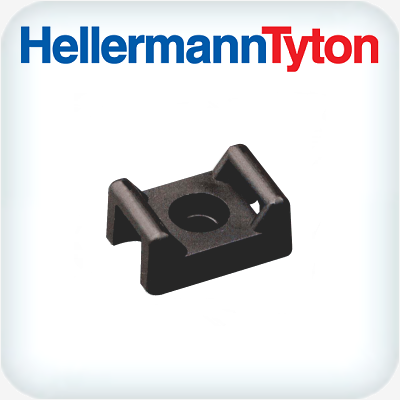 Nylon Tie Screw Fixed Mount Pack 100