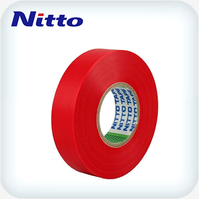Nitto 201E PVC Tape .15 x 18mm Red 20m Roll
