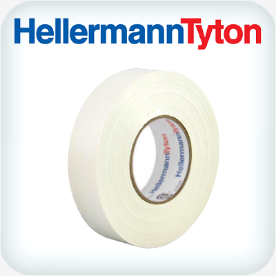 Helatape PVC Tape .15 x 19mm White 20m Roll