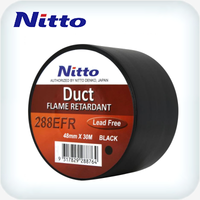 Nitto Duct Tape Black 48mm x 30m